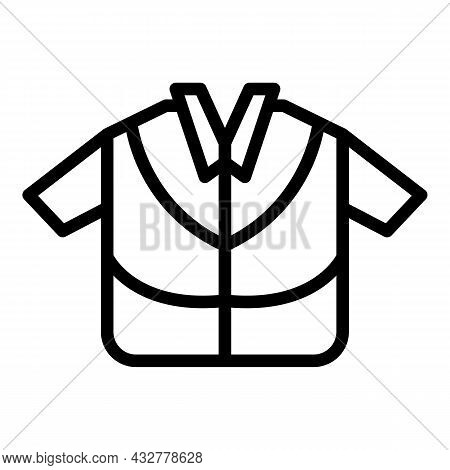 Travel Retirement Icon Outline Vector. People Vacation. Senior Person