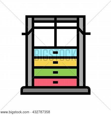 Weight Training Apparatus Color Icon Vector. Weight Training Apparatus Sign. Isolated Symbol Illustr