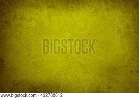 Yellow textured concrete wall background