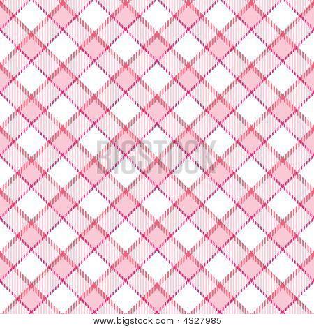 Pink Stripe Plaid