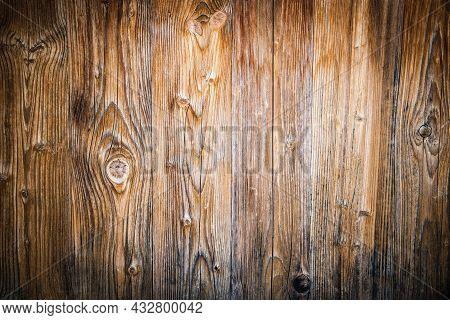 Old Vignetting Grunge Wood Background, Vintage Background
