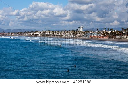 Oceanside Beach, California