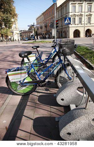 Bikes For Hire, Krakow