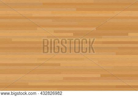 Wood Texture Background. Wooden Floor Surface. Vector Illustration