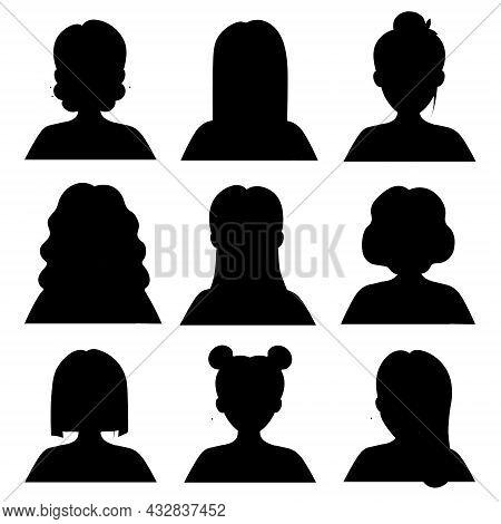 Seth Black Forces Girls.vector Illustration. For Your Avatar
