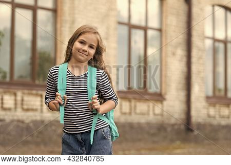 Celebrating Rights Of Children On Childrens Day. Little Child Go To School. Right To Education. Inte