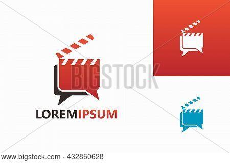 Forum Movie Logo Template Design Vector, Emblem, Design Concept, Creative Symbol, Icon