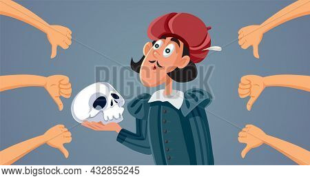 Actor Giving Bad Theatrical Performance Receiving Negative Feedback