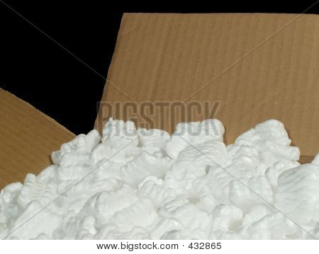 Box With Packing Material
