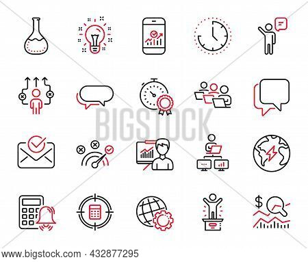 Vector Set Of Education Icons Related To Check Investment, Correct Answer And Work Home Icons. Messe