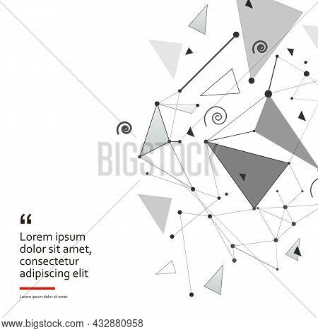 Abstract Shapes Design For Web Background Design. Modern Abstract Cover Set, Minimal Design, Vector