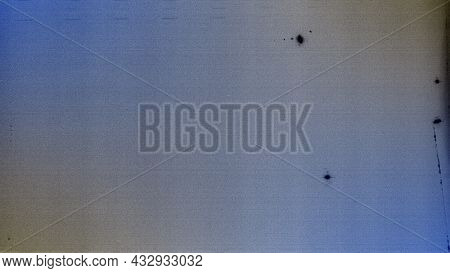 Blank Grained Toned Film Strip Texture Background With Heavy Grain And Dust