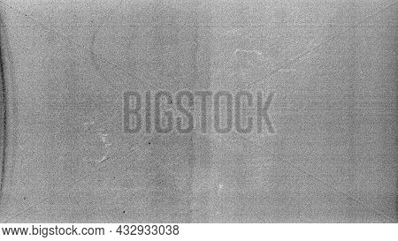Blank Grained Film Strip Texture Background With Heavy Grain And Dust