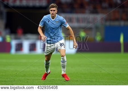 Milano, Italy. 12 September 2021. Toma Basic Of Ss Lazio  During The Serie A Match Between Ac Milan