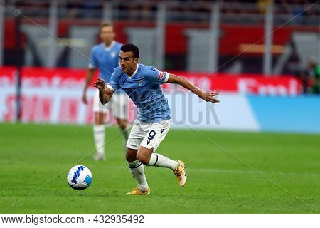 Milano, Italy. 12 September 2021. Pedro Rodriguez Ledesma Of Ss Lazio  During The Serie A Match Betw