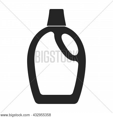 Detergent Vector Icon.black Vector Icon Isolated On White Background Detergent.