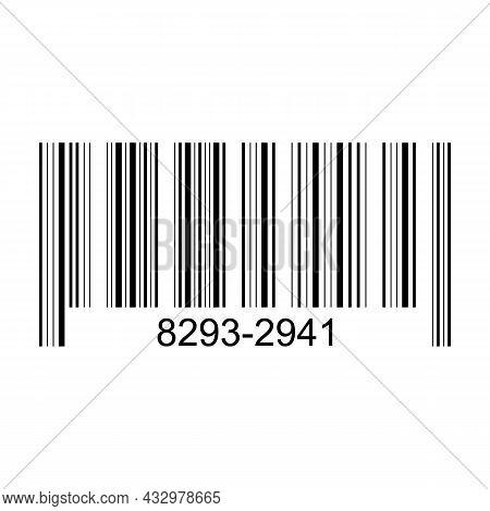 Bar Code Vector Cartoon Icon. Vector Illustration Barcode On White Background. Isolated Cartoon Illu