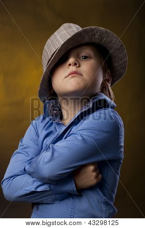Boy In A Hat