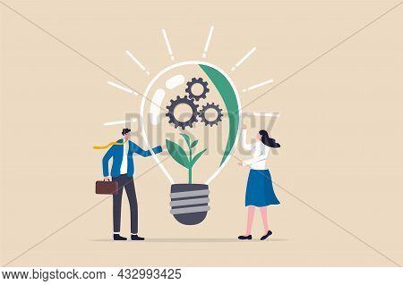 Esg, Environmental, Social And Corporate Governance, Company Responsibility To Care World Environmen