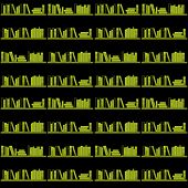 Books on a shel seamless.Vector illustration in AI-EPS8 format. poster