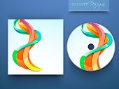 CD Cover designs for your business. EPS 10. poster