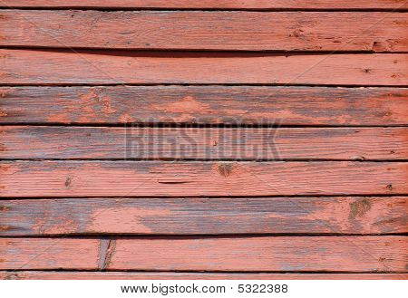 Weathered painted obsolete wooden rough planks old poster