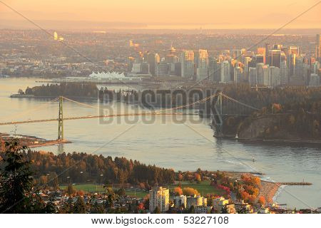 Vancouver Autumn Sunset