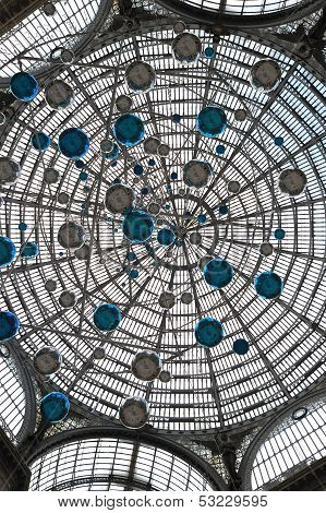 Art Nouveau Dome In Naples
