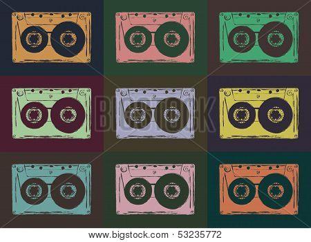 Tape casettes