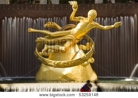 Prometheus Statue