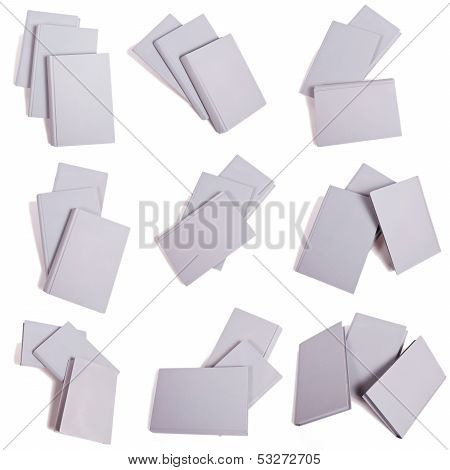 Selection Of Gray Book Piles