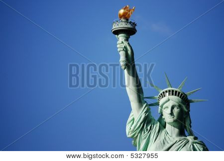 The Stature Of Liberty