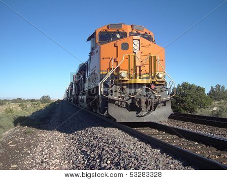 Afternoon freight train