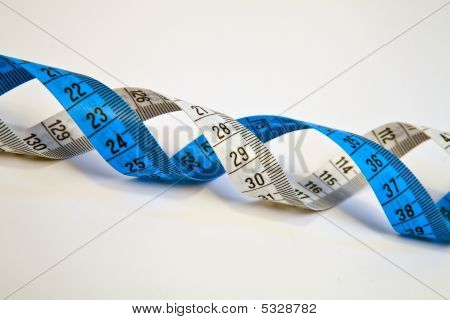 Measurement Tape Dna Helix.