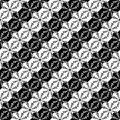 Design seamless monochrome diagonal pattern. Vector art poster