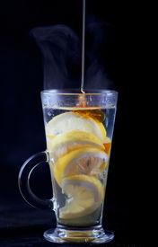 Honey In Lemon Tea