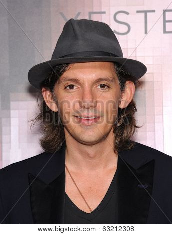 LOS ANGELES - APR 10:  Lukas Haas arrives to the 'Transcendence' Los Angeles Premiere  on April 10, 2014 in Westwood, CA
