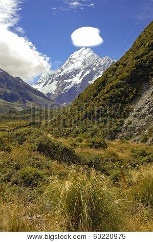 Mount Cook / Aoraki, Mount Cook National Park, South Island New Zealand