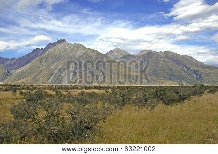 Aoraki, Mount Cook National Park, South Island New Zealand