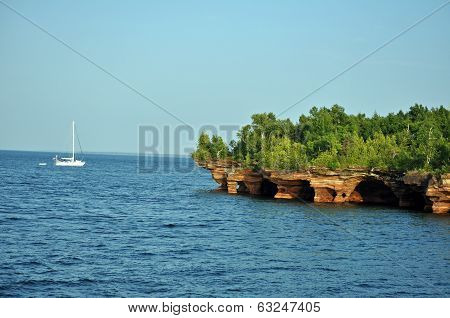 Boating the Apostle Islands