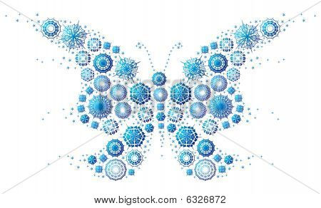 snowflake`s butterfly