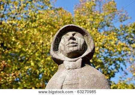 Statue Of Geertrui Van Oosten.
