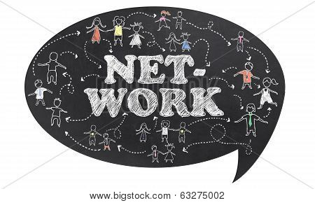 Network With Clipping Path
