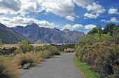 Aoraki, Mount Cook National Park, South Island New Zealand poster