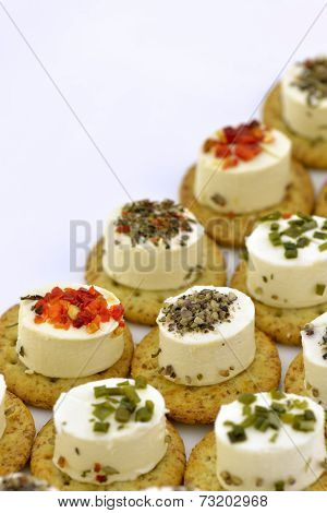 Cheese Appetizer With Biscuit