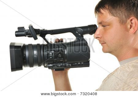 The Man With A Videocamera