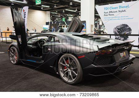 2015 Lamborghini Aventador At The Orange County International Auto Show