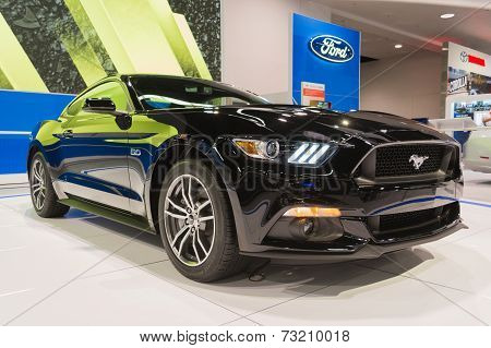 2015 Ford Mustang At The Orange County International Auto Show