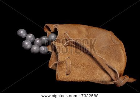Pouch Of Lead Ball