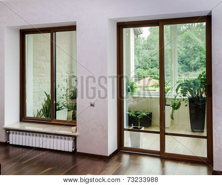 New Sliding Fiberglass Doors For Terrace
